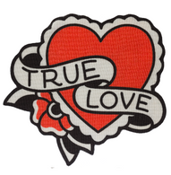 Sourpuss True Love Rug  - Cobalt Heights