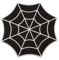 Sourpuss Spiderweb Rug - Cobalt Heights