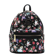 Loungefly X Disney Alice In Wonderland Black Mini Backpack - Cobalt Heights