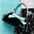 Sourpuss Floozy Purse - Black and Teal - In Action - Cobalt Heights