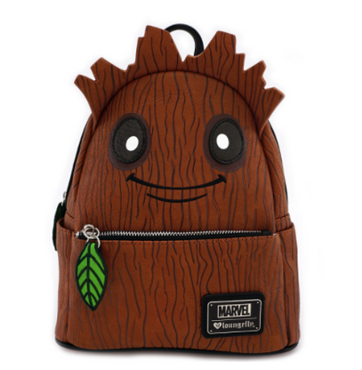 Loungefly X Marvel Groot Leaf Mini Backpack - Cobalt Heights