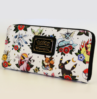 Loungefly X Pokemon Eevee Evolutions Flash Tattoo Wallet - Cobalt Heights