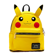 Loungefly X Pokemon Pikachu Face Mini Backpack - Cobalt Heights