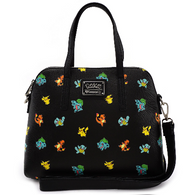 Loungefly X Pokemon Starters Handbag - Cobalt Heights