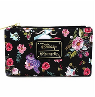 Loungefly X Disney Alice In Wonderland Black Bifold Wallet - Cobalt Heights