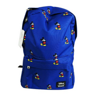 Loungefly X Disney Mickey Mouse Print Backpack - Back To School Bundle! - Cobalt Heights