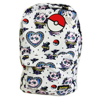 Loungefly X Pokemon Jigglypuff Flash Tattoo Backpack - Back To School Bundle! - Cobalt Heights