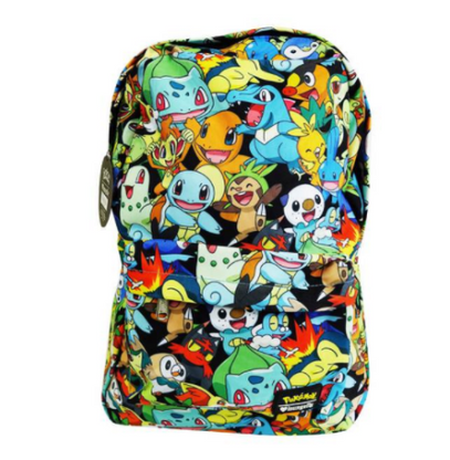 Loungefly X Pokemon Starters Backpack - Back To School Bundle! - Cobalt Heights