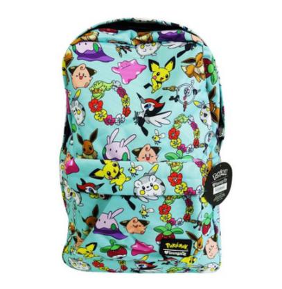Loungefly X Pokemon Kawaii Character Backpack - Back To School Bundle! - Cobalt Heights