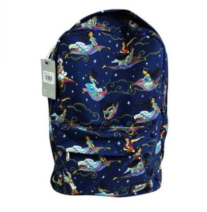 Loungefly X Disney Aladdin and Jasmine Backpack - Back To School Bundle! - Cobalt Heights