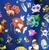 Loungefly X Pokemon Kanto Backpack - Back To School Bundle! - Print - Cobalt Heights
