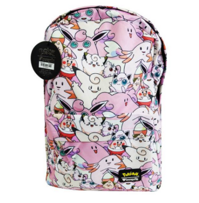 Loungefly X Pokemon Fairy Type Backpack - Back To School Bundle! - Cobalt Heights