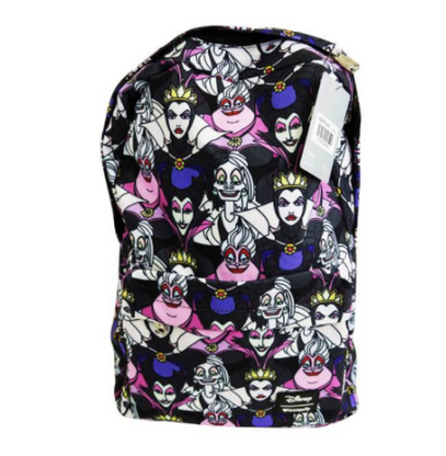 Loungefly X Disney Villains Portrait Backpack - Back To School Bundle! - Cobalt Heights