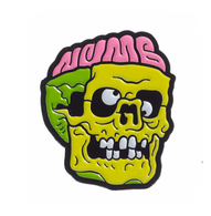 Sourpuss Numb Skull Lapel Pin - Cobalt Heights