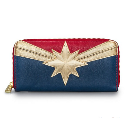 Loungefly X Marvel Captain Marvel Wallet - Cobalt Heights