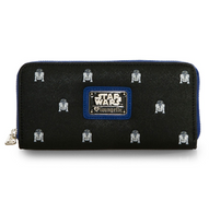 Loungefly X Star Wars R2D2 Mini Print Wallet - Cobalt Heights