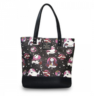 Loungefly X The Nightmare Before Christmas Flash Tattoo Tote - Cobalt Heights