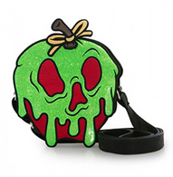 Loungefly X Disney Poison Apple Handbag - Cobalt Heights