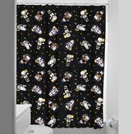 Sourpuss Monster Kewpies Shower Curtain - Cobalt Heights