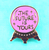 Jubly Umph The Future Is Yours Lapel Pin - Cobalt Heights