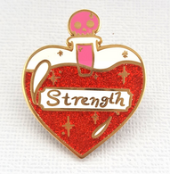 Jubly Umph Solution Of Strength Lapel Pin - Cobalt Heights