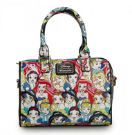 Loungefly X Disney Princess Pebble Handbag - Cobalt Heights