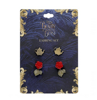 Disney Beauty And The Beast Stud Set - Cobalt Heights