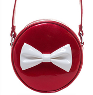 Sourpuss Ship Shape Purse - Red - Cobalt Heights