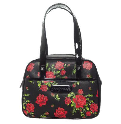 Sourpuss Rose Garden Mini Bowler - Cobalt Heights