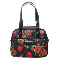 Sourpuss Rose Garden Mini Bowler - Cobalt Heights