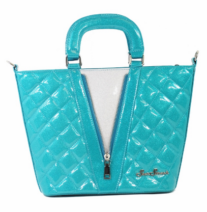 Starstruck Vixen Tote - Atomic Blue and Silver - Cobalt Heights