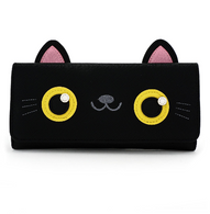 Loungefly Black Cat Face Wallet - Cobalt Heights