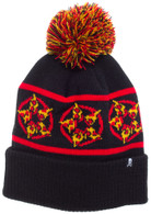 Sourpuss Hail Pizza Beanie - Cobalt Heights