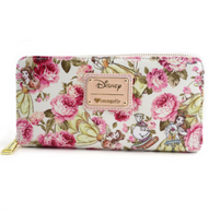 Loungefly X Disney Floral Belle Wallet - Cobalt Heights