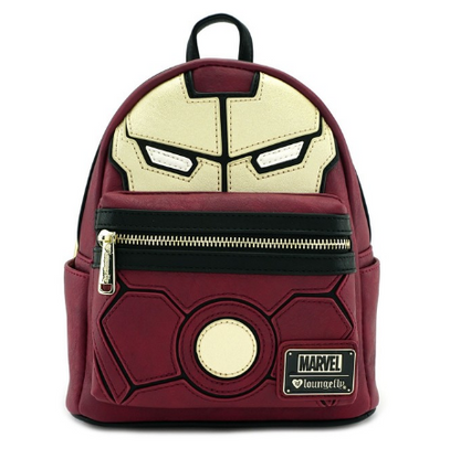 Loungefly X Marvel Iron Man Cosplay Mini Backpack - Cobalt Heights