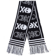 Sourpuss Skull Scarf - Cobalt Heights