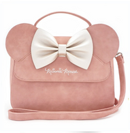 Loungefly X Disney Pink Minnie Mouse Ears Crossbody Purse - Cobalt Heights