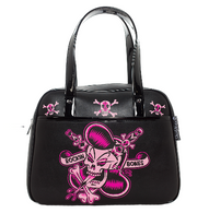 Sourpuss Rockin Bones Bowler - Cobalt Heights