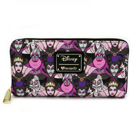 Loungefly X Disney Villains Portraits Wallet - Cobalt Heights