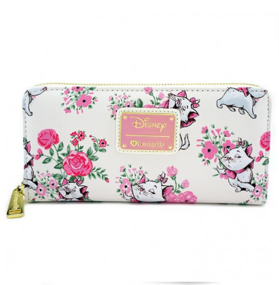 Loungefly X Disney Marie Floral Wallet - Cobalt Heights