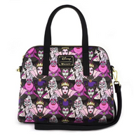 Loungefly X Disney Villains Portraits Handbag - Cobalt Heights