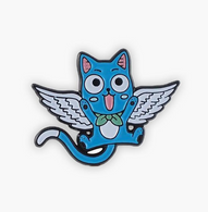 The Sunday Co Happy Cat Enamel Pin - Cobalt Heights