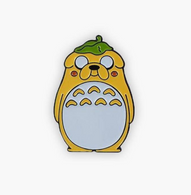 The Sunday Co Jake Totoro Enamel Pin - Cobalt Heights