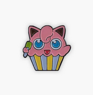 The Sunday Co Jigglypuff Cupcake Enamel Pin - Cobalt Heights