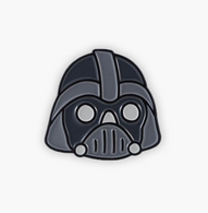 The Sunday Co Vader Enamel Pin - Cobalt Heights