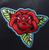 Sourpuss Traditional Roses Cheap Thrills Purse - Motif - Cobalt Heights
