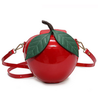 Red Apple Crossbody Purse - Cobalt Heights