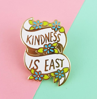 Jubly Umph Kindness Is Easy Lapel Pin - Cobalt Heights
