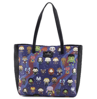 Loungefly X Marvel Avengers Infinity War Kawaii Tote Handbag - Cobalt Heights