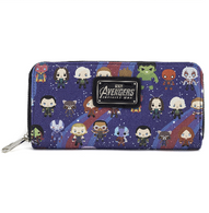 Loungefly X Marvel Avengers Infinity War Kawaii Wallet - Cobalt Heights